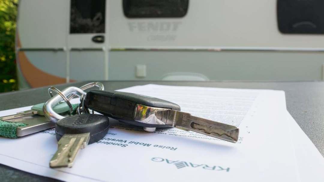 Wohnwagen- oder Wohnmobil-Versicherung