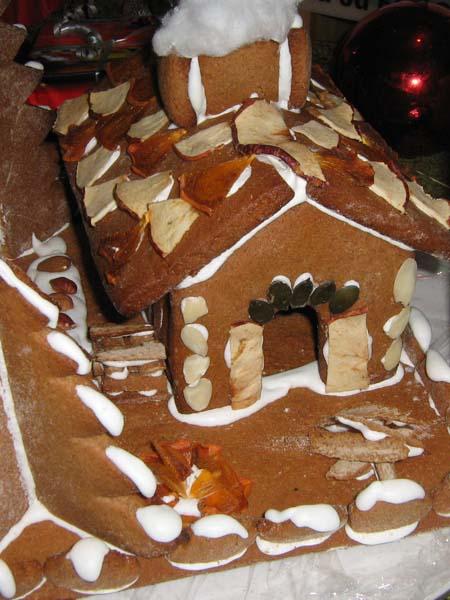 essbares Lebkuchenhaus