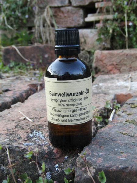 Beinwellwurzeln-Öl