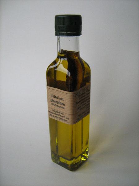 Pilz Öl Steinpilz mediteran 250ml