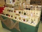 Brennessel Samen im Honig uvm zum Verkosten am Messestand