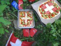 1. August Permakultur mit Schweizer Pizza