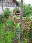 Kostenlos Garten gestalten DIY Flechten - Der einfache Weg fertige Haselflechtwand