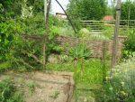 Kostenlos Garten gestalten DIY Flechten - Der einfache Weg Flechtwand frontal