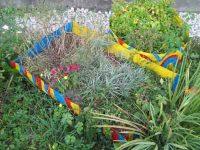 Garten gestalten und viel Geld sparen. Blumenkiste im 2.Jahr