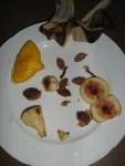 Früchte verarbeiten zu leckeren Süssigkeiten. Einfache Methode. Fruchtreste