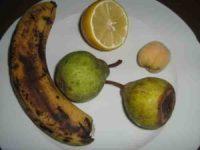 Früchte verarbeiten