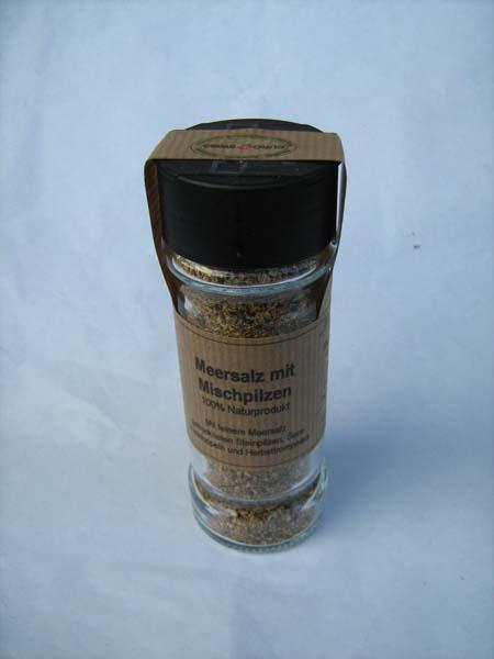 Pilz-Salz Meersalz Mischpilze