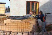Heizen mit Biomasse - DIY mit wenig Geld Heizung bauen (Teil 1/4) 30m Leitungen verlegen