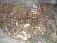 Biomasse Heizung Eigenheim - DIY Bauanleitung und Sparen (Teil 3/4) Armierungsgitter vom BM