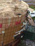 Wärme aus Biomasse - Sparen beim Heizen - Anleitung zum Eigenbau (Teil 2/4) BM ueberstehende Leitungen