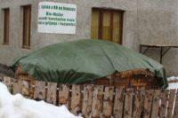 Wärme aus Biomasse - Sparen beim Heizen - Anleitung zum Eigenbau (Teil 2/4) BM im Winter
