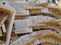 Samentüten selber machen - Samentüten-Vorlagen Gratis herunterladen Beutel in Reih u Glied