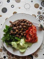 Rohkost Bohnen-Salat