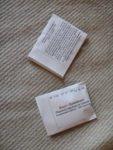 Samentüten selber machen - Samentüten-Vorlagen Gratis herunterladen letzte Falte dann schliessen