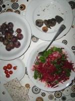 Rohköstlicher Herbstsalat