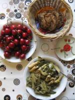 Gemüseteller mit Teigwaren