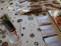 Samentüten selber machen - Samentüten-Vorlagen Gratis herunterladen Beutel im Buch