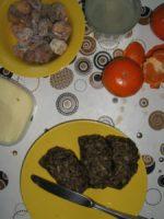 Rohkost-Frühstück mediteran