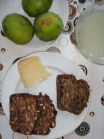 Frühstück mit saftigem Chlorophylle