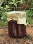 Schlehdornbeeren Mus als Naturkosmetik Maske oder zum Essen