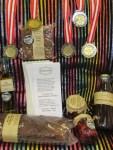 5 Gold- Silber u Bronze-Medaillen in Wieselburg fuer unsere Delikatessen