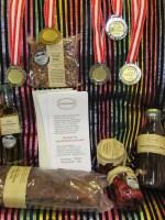 5 Gold- Silber u Bronze-Medaillen in Wieselburg hier beim Natur Paket Magen-Darm