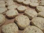 ferig gebackene Kekse mit feriger Backmischung