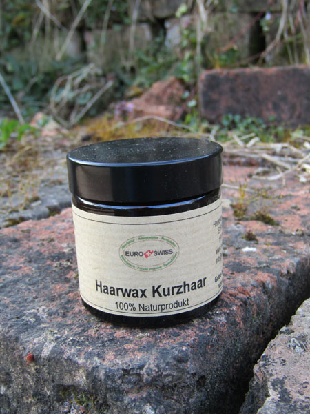 natürliches Haarwachs für Kurzhaar
