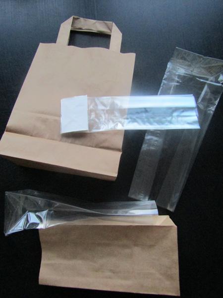 Verpackungen und Dekorationen