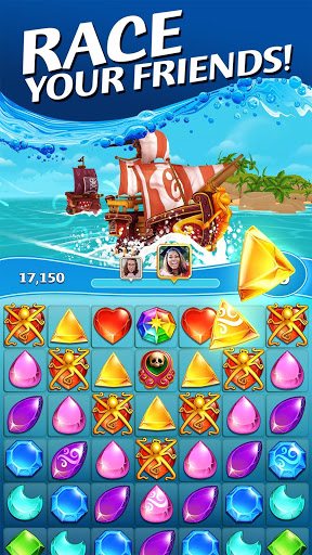 Booty Quest – Match 3 – Pirate Treasure Game cheathackgameplayapk modresources generator 3