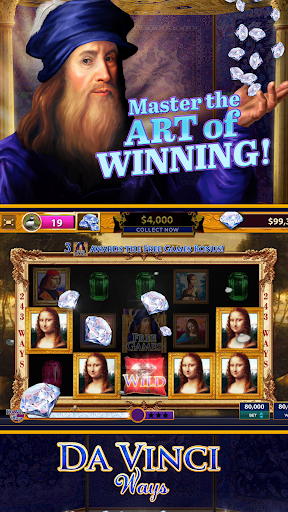 Da Vinci Diamonds Casino Best Free Slot Machines 2.5.7 cheathackgameplayapk modresources generator 2