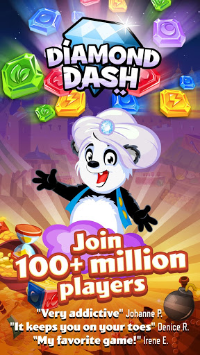 Diamond Dash Match 3 Award-Winning Matching Game cheathackgameplayapk modresources generator 5