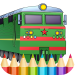 Download Trains Game Coloring Book APK, APK MOD, Cheat