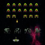 Free Download Invaders Deluxe – Retro Arcade Space Shooter SHUMP APK, APK MOD, Cheat