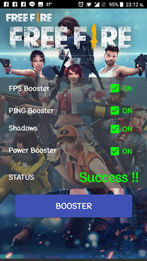 Free Fire FPS and PING Booster 1.0 cheathackgameplayapk modresources generator 5