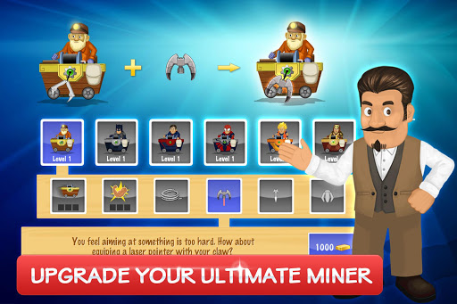 Gold Miner Vegas Gold Rush cheathackgameplayapk modresources generator 4