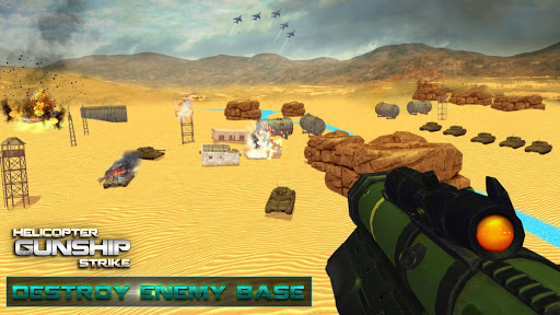 Helicopter Gunship Strike cheathackgameplayapk modresources generator 3