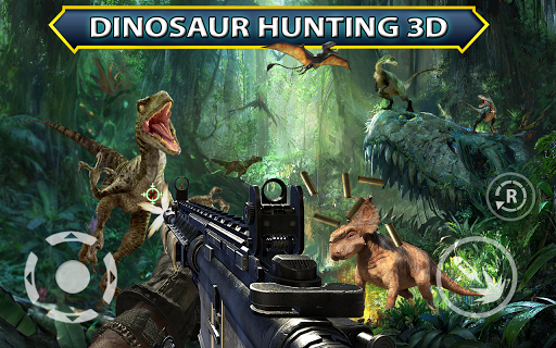 Jurassic Dino World Fallen Kingdom FPS Shooting 1.1 cheathackgameplayapk modresources generator 3