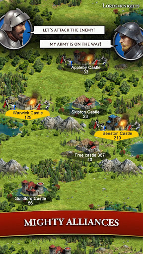 Lords amp Knights – Medieval Building Strategy MMO cheathackgameplayapk modresources generator 3