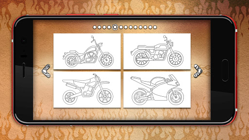 Motorcycles Coloring Pages 1.1 cheathackgameplayapk modresources generator 2