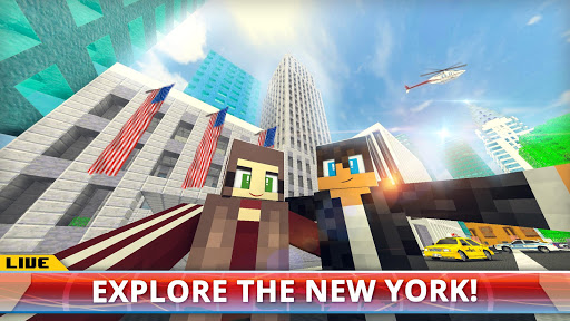 New York City Craft Blocky NYC Building Game 3D 1.2 cheathackgameplayapk modresources generator 1