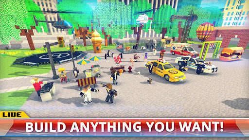 New York City Craft Blocky NYC Building Game 3D 1.2 cheathackgameplayapk modresources generator 4