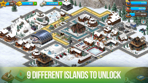 Paradise City Island Sim Bay cheathackgameplayapk modresources generator 3