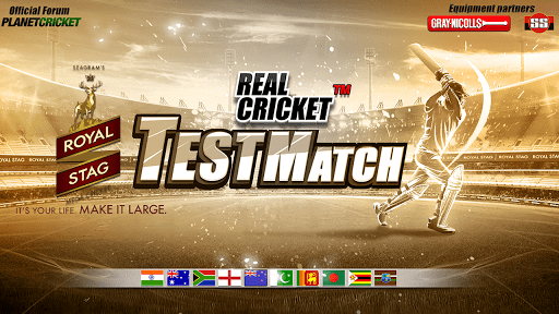 Real Cricket Test Match cheathackgameplayapk modresources generator 1