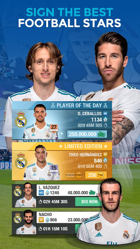 Real Madrid Fantasy Manager18- Real football live cheathackgameplayapk modresources generator 3