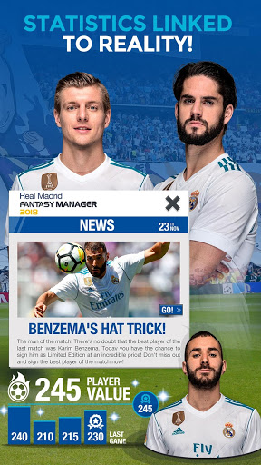 Download Real Madrid Fantasy Manager'18- Real football live APK, APK