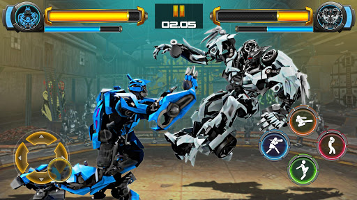 Download Robot Fighting Games: Real Transform Ring Fight 3D