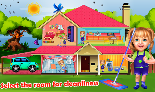 Sweet Baby Girl Cleaning Games House Cleanup 2018 1.0.0 cheathackgameplayapk modresources generator 1