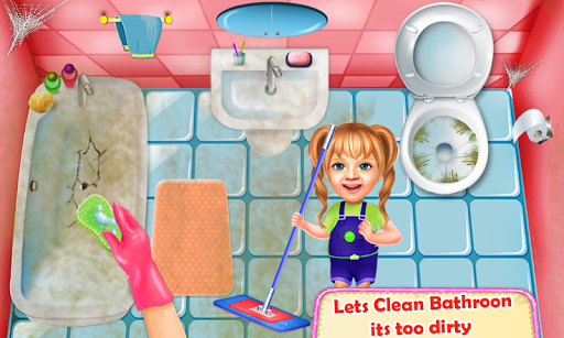 Sweet Baby Girl Cleaning Games House Cleanup 2018 1.0.0 cheathackgameplayapk modresources generator 3